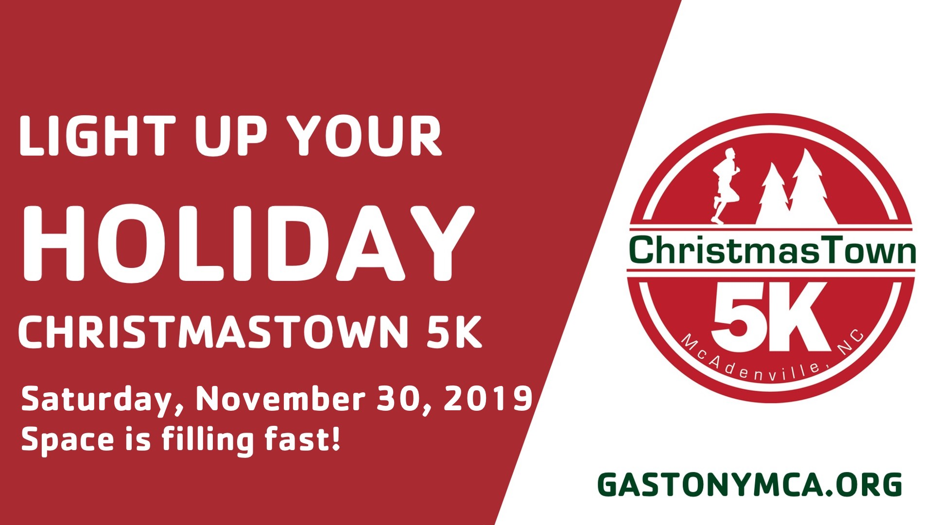 Christmas Town Tickets 2019 ChristmasTown 5K | Gaston County Family YMCA